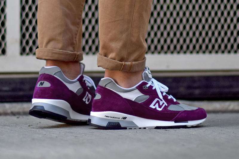 New Balance 991.5 SNKRS Plum Made in UK Flimby Purple Grey White Release Information Details News