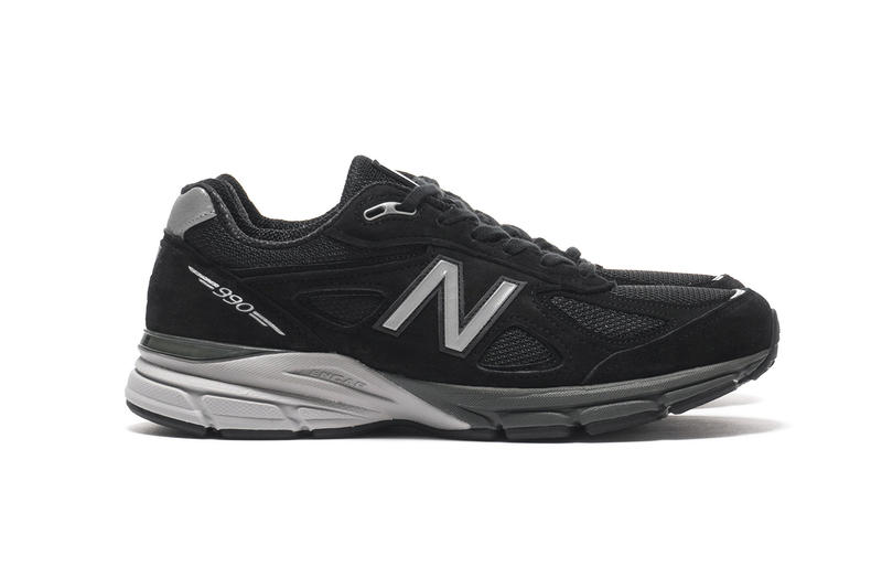 d97f540d1a3c7 New Balance M990 Black Pig Suede Mesh release info silver footwear sneakers  running