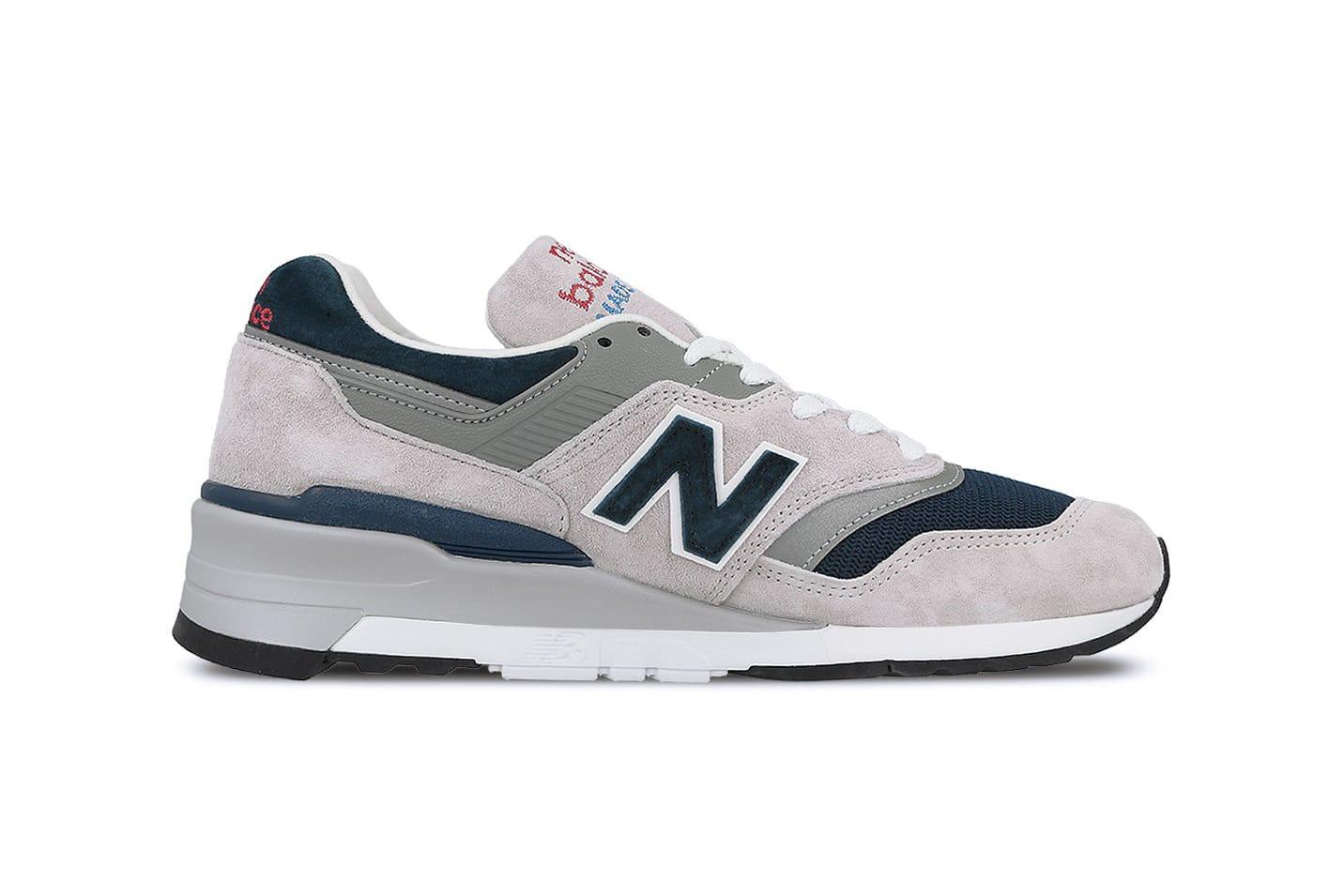new balance 997 grey white