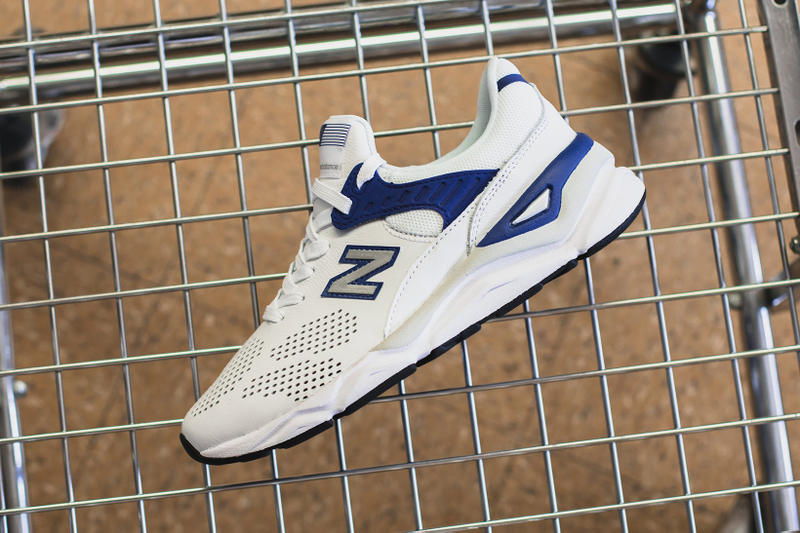 New Balance X-90 White Blue 2018 may footwear