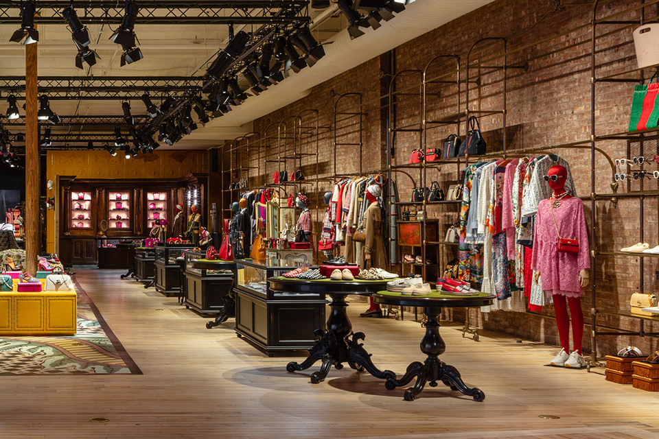 8b22f261876 Gucci Opens New York Wooster Street Store