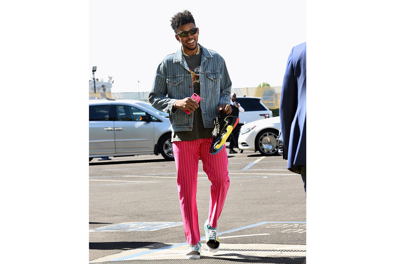 a0cdac179ff64 Nick Young adidas Crazy BYW X pharrell williams nba game 6 western  conference finals playoffs
