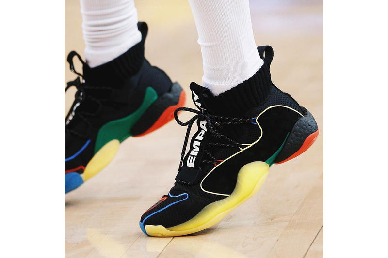 official photos 98d12 d54ab Nick Young adidas Crazy BYW X pharrell williams nba game 6 western  conference finals playoffs