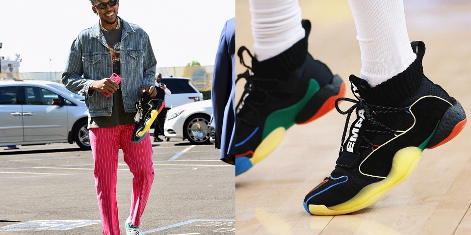 best service 68264 b06af Nick Young Teases the Pharrell x adidas Crazy BYW X for Game 6