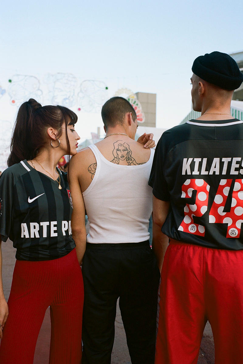 24 Kilates Nike Football Jersey Collaboration Arte Puro Black Grey Red Release Details Information World Cup 2018 FIFA