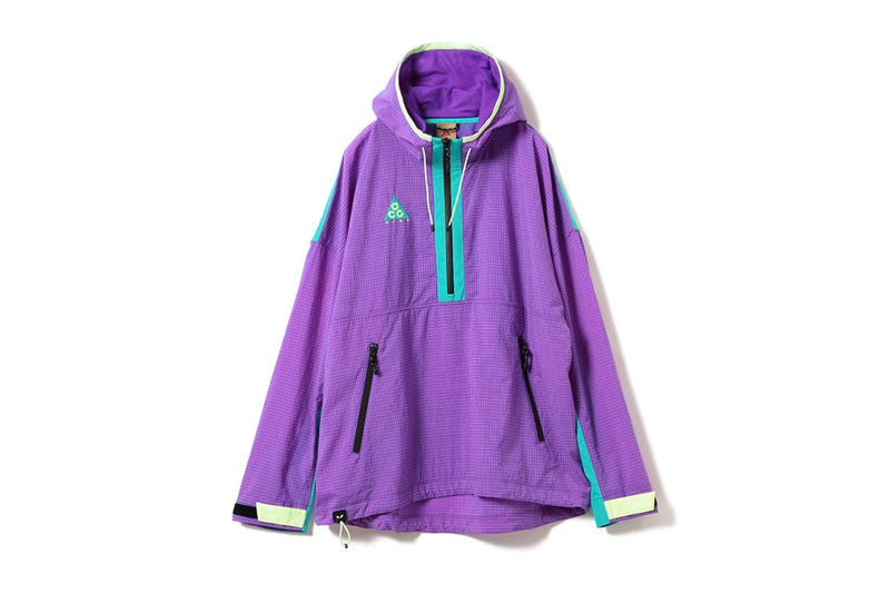 Nike ACG Spring Summer 2018 purple jacket