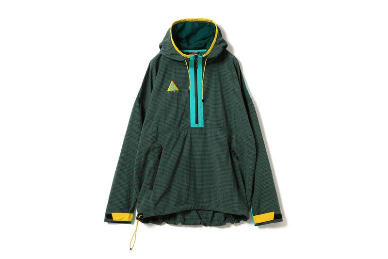 Nike ACG Spring Summer 2018 green jacket