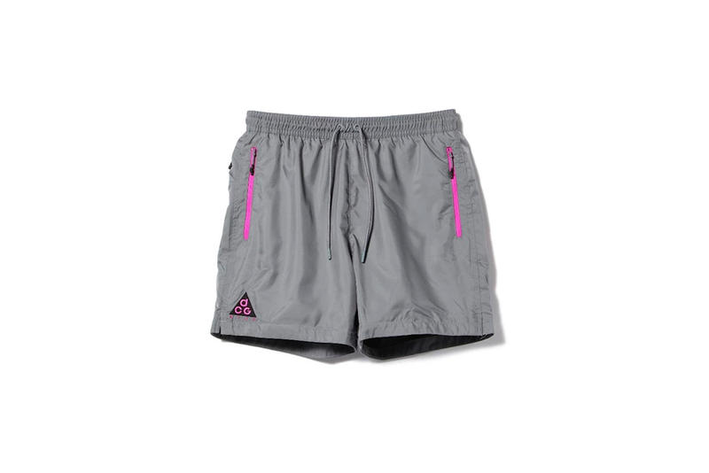 Nike ACG Spring Summer 2018 grey shorts