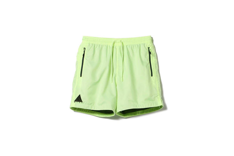 Nike ACG Spring Summer 2018 green shorts