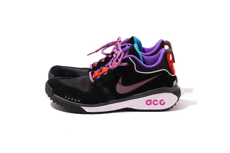 Nike ACG Spring Summer 2018 dog mountain hiking boot black