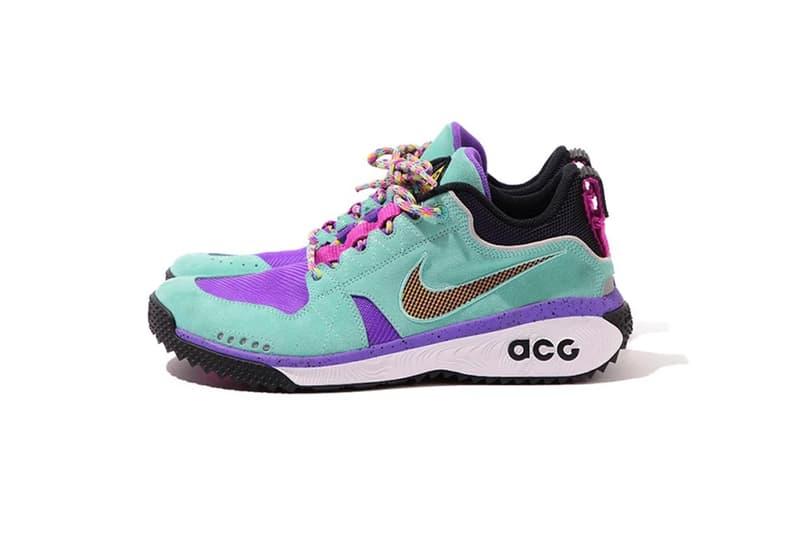 Nike ACG Spring Summer 2018 dog mountain hiking boot green