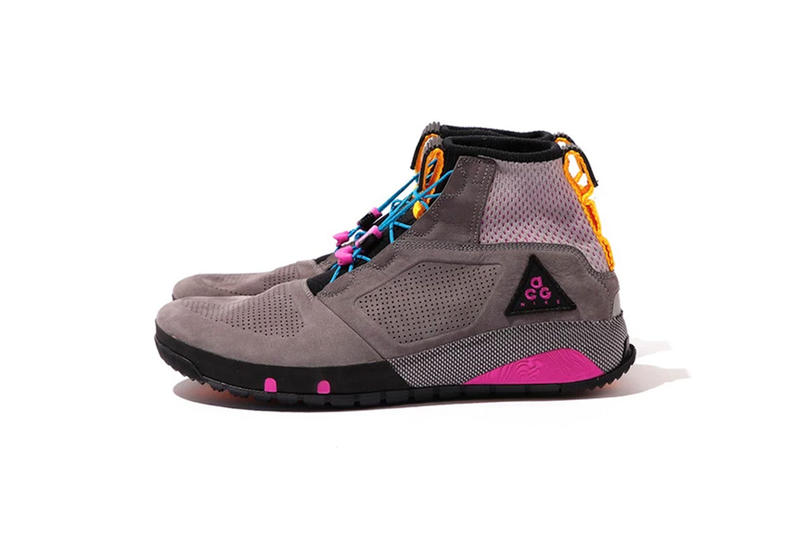 Nike ACG Spring Summer 2018 dog mountain hiking boot grey