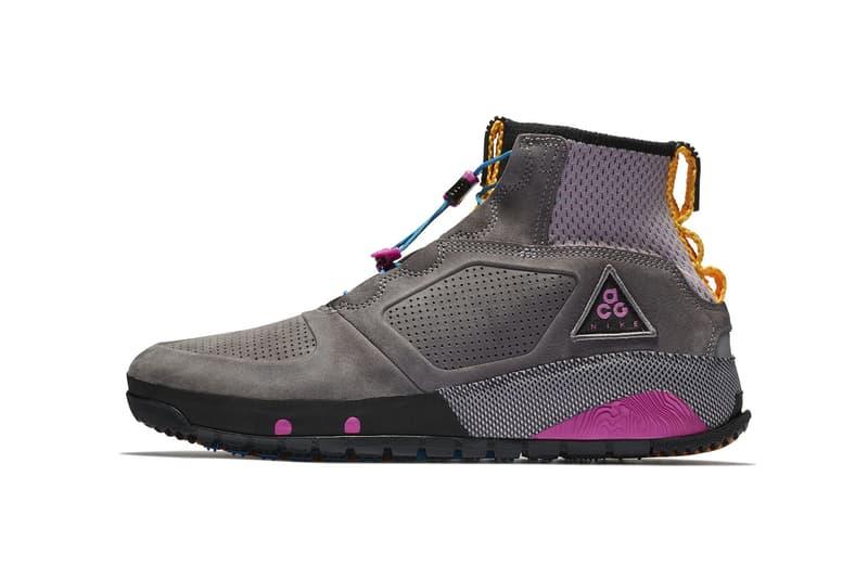 Nike ACG Ruckel Ridge Gunsmoke atmosphere grey june 1 2018 AQ9333 001 release date info drop sneakers shoes footwear