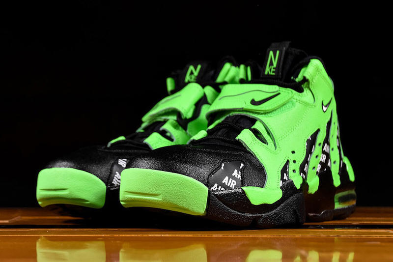 Nike Air Diamond Turf Max '96 Rage Green Horror Movie Theme Football Training Silhouette Renarts Release Details Information