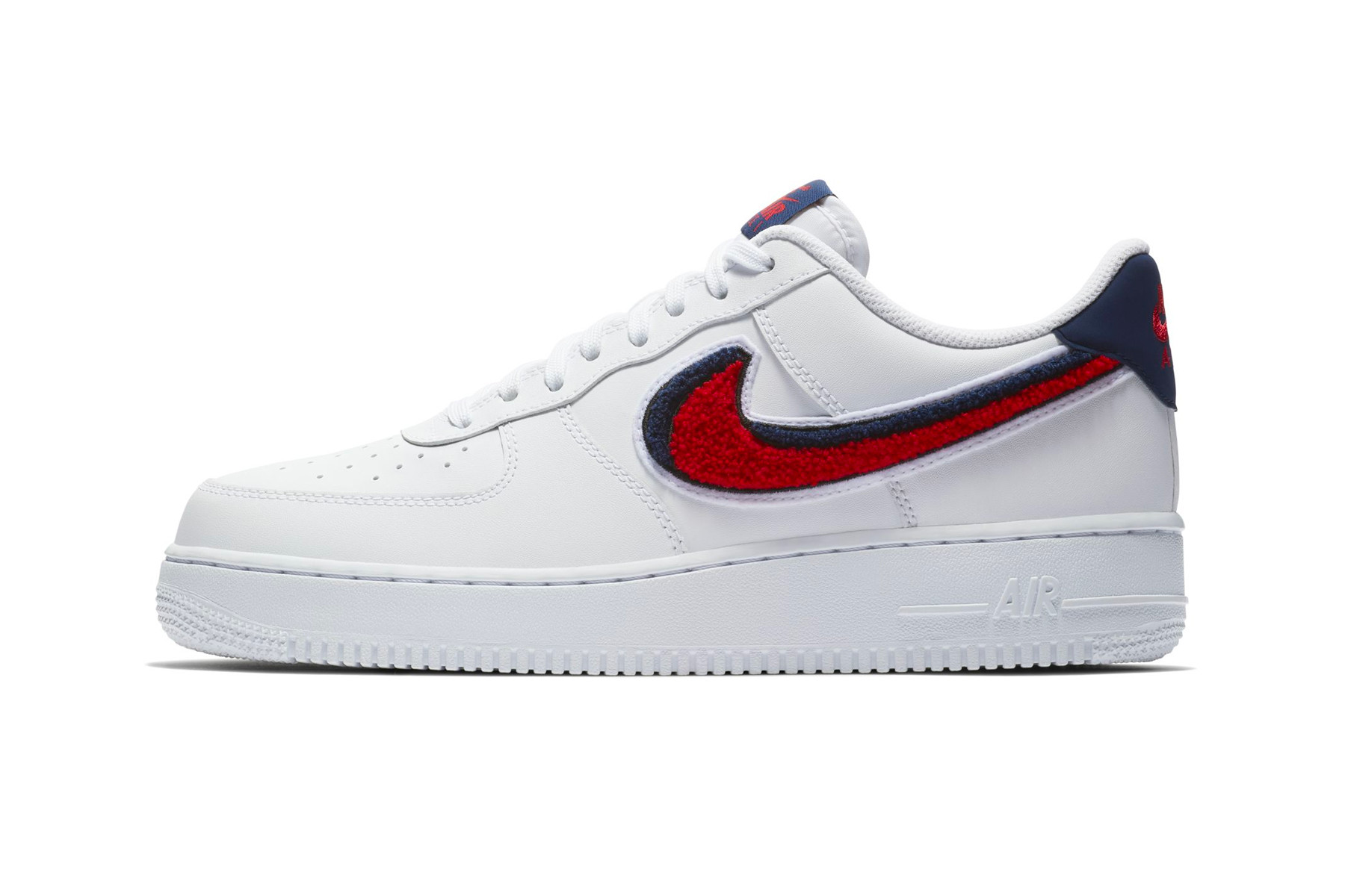 air force 1 blue nike sign