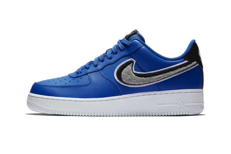 Nike Air Force 1 '07 LV8 Chenille Swoosh Release Date