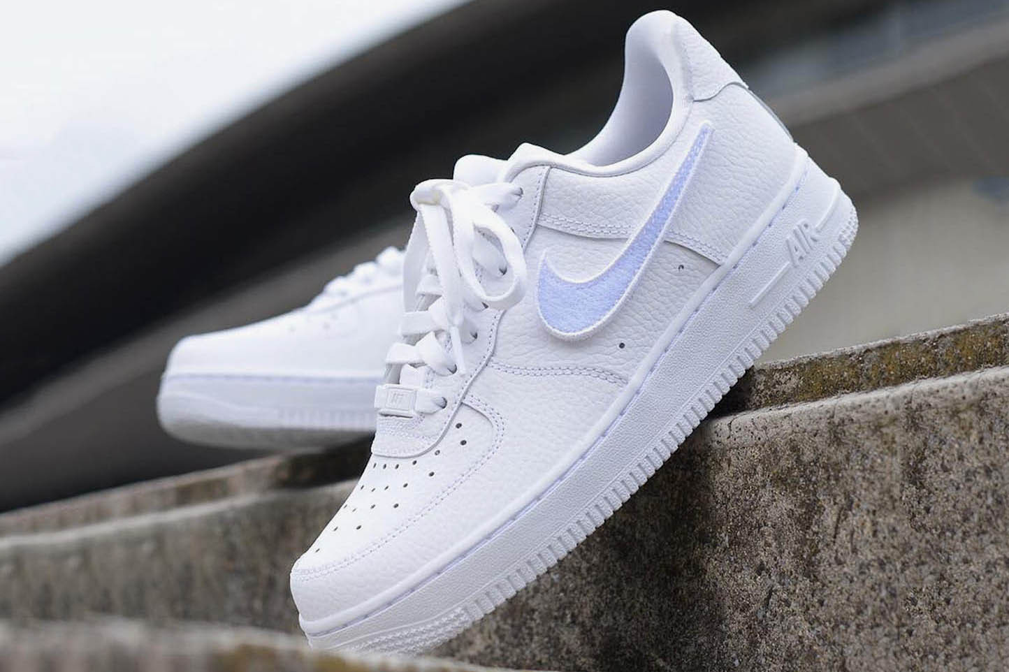 Nike Air Force 1-100 With Customizable Swoosh