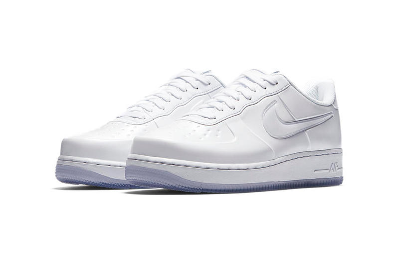 Nike Air Force 1 Foamposite Pro Cup Triple White AF1 Release Date Info Drops May 26 2018 Icy Sneakers