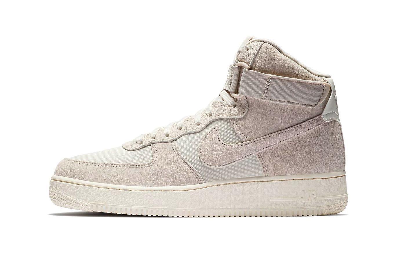 beige air force 1 high top