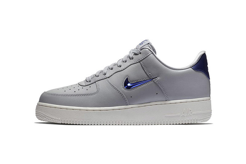Nike Air Force 1 Jewel Swoosh Summer 2018 Pack release date info drop sneakers shoes footwear low mid four colorways leather suede