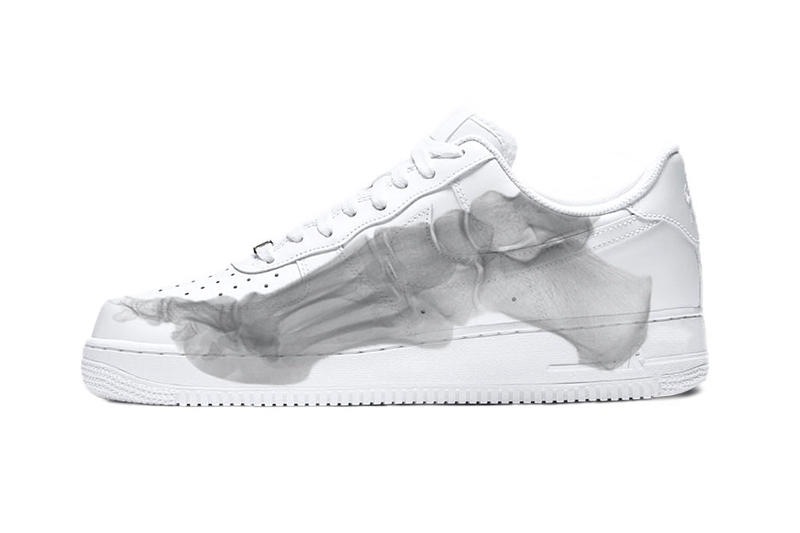 Nike Air Force 1 Low QS Skeleton White Bones