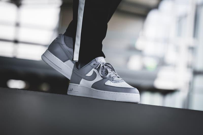 Nike Air Force 1 Low White Grey release info sneakers footwear