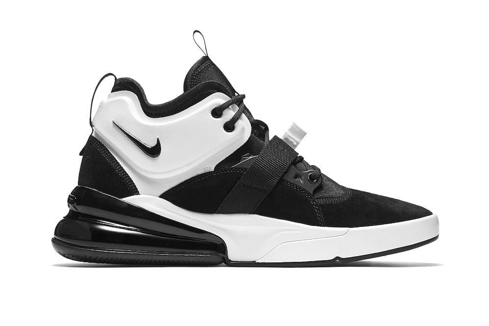 Nike Air Force 270 Black/White Release