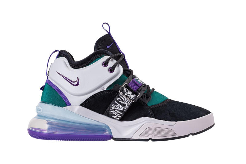 Nike Air Force 270 Court Purple Dark Atomic Teal carnivore huarache green clack white