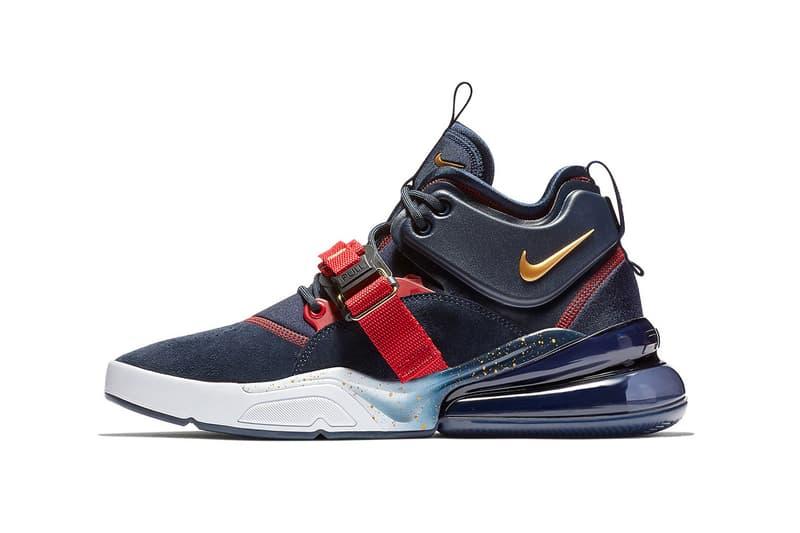 Nike Air Force 270 Dream Team Navy Red Metallic Gold 2018 nike sportswear footwear