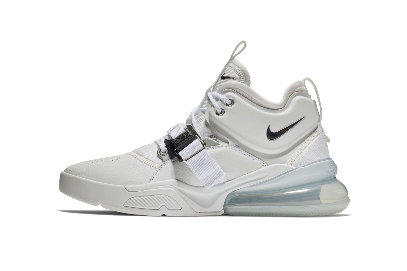 Nike Air Force 270 White/Metallic