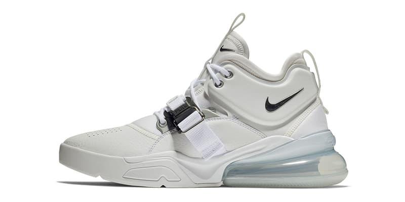 Nike Air Force 270 White metallic silver may june 2018 release date info drop sneakers shoes footwear