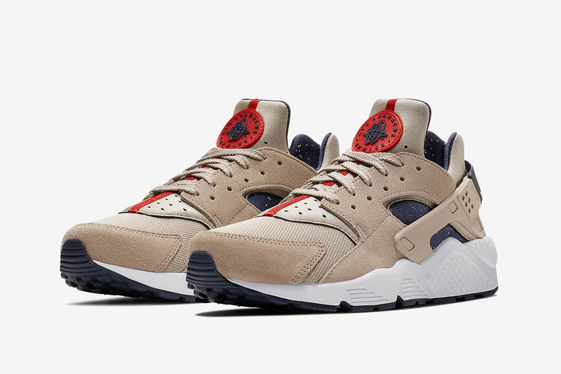 Nike Air Huarache Moon Particle Release Date closer look purchase price nasa space