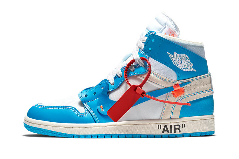 Virgil Abloh Nike Air Jordan 1 Retro High Off White Powder Blue Launch Details Release Info Drops Date May 30 2018 Confirmed SNKRS UNC AJ1 Jordan Brand Basketball