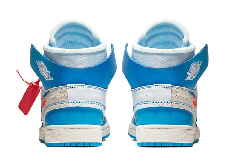 Virgil Abloh Nike Air Jordan 1 Retro High Off White Powder Blue Launch Details Release Info Drops Date May 30 2018 Confirmed SNKRS UNC AJ1 Jordan Brand Basketball