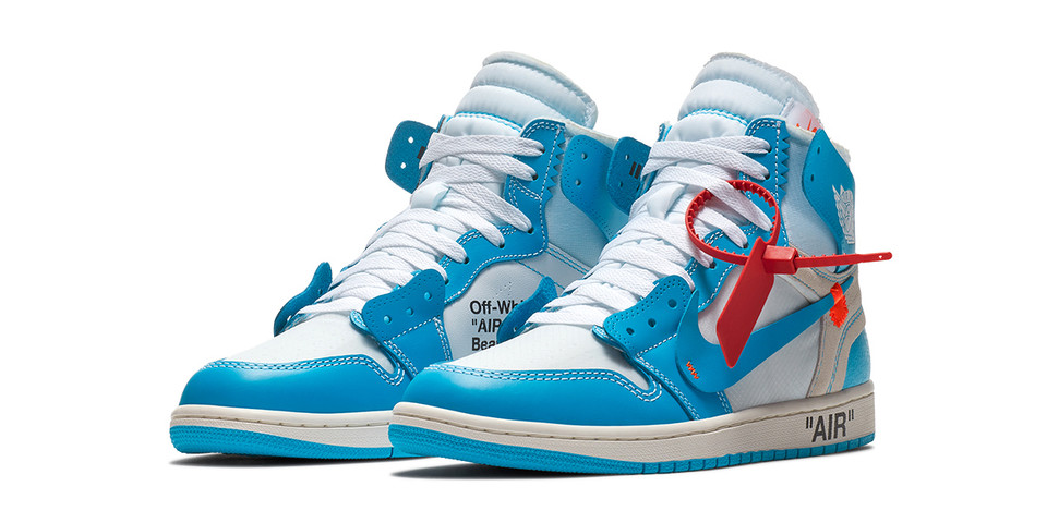 "Here Are the Confirmed Air Jordan 1 Retro High Off-White™ ""Powder Blue"" Launch Details"