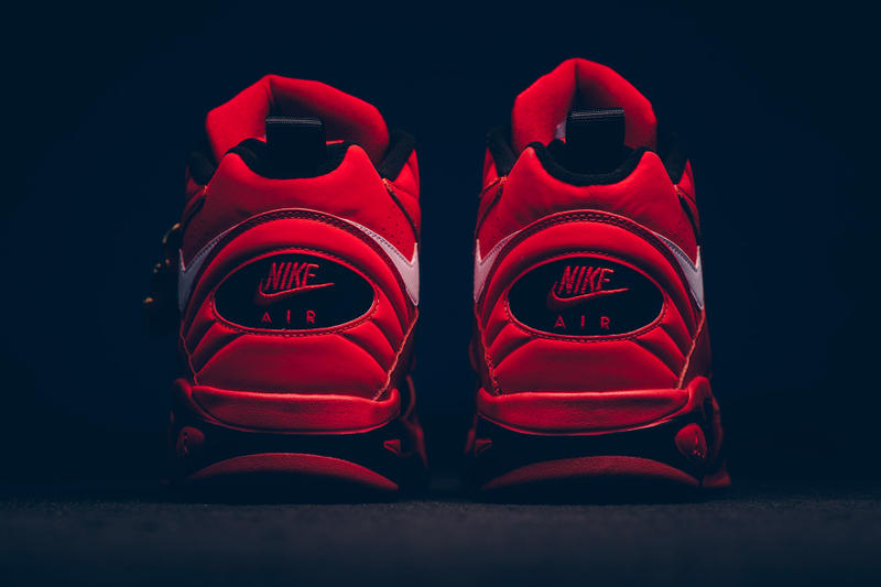 """Nike Air Maestro II """"Trifecta"""" Release Date purchase closer look price sneakers scottie pippen red nba"""