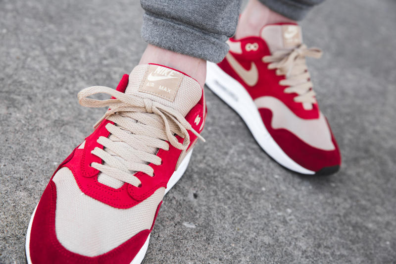 check out 904c8 399c0 nike air max 1 curry pack on foot sneakers footwear shoes kicks swoosh