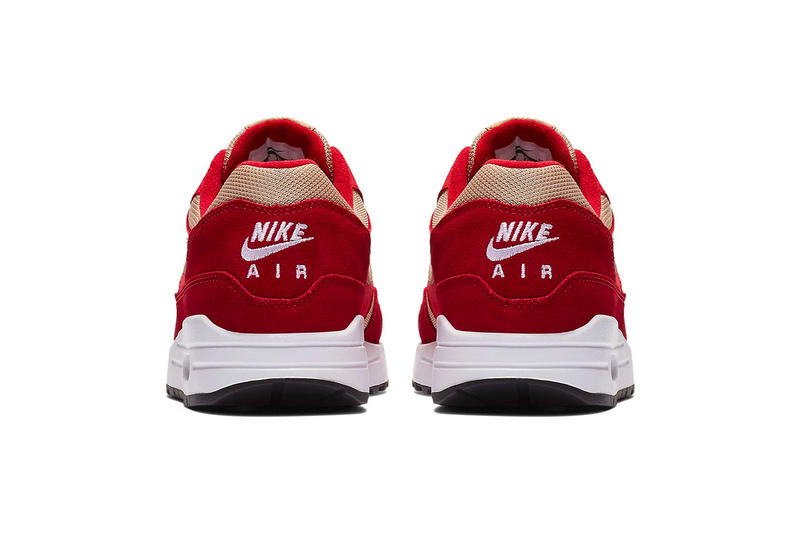 Nike Air Max 1 Curry Pack Rerelease release info sneakers footwear yellow red green suede