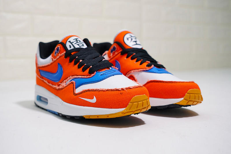 nike air max 1 dragon ball goku custom sneakers