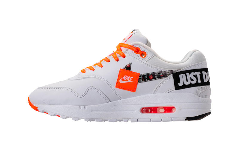 "Nike Air Max 1 ""Just Do It"" white"