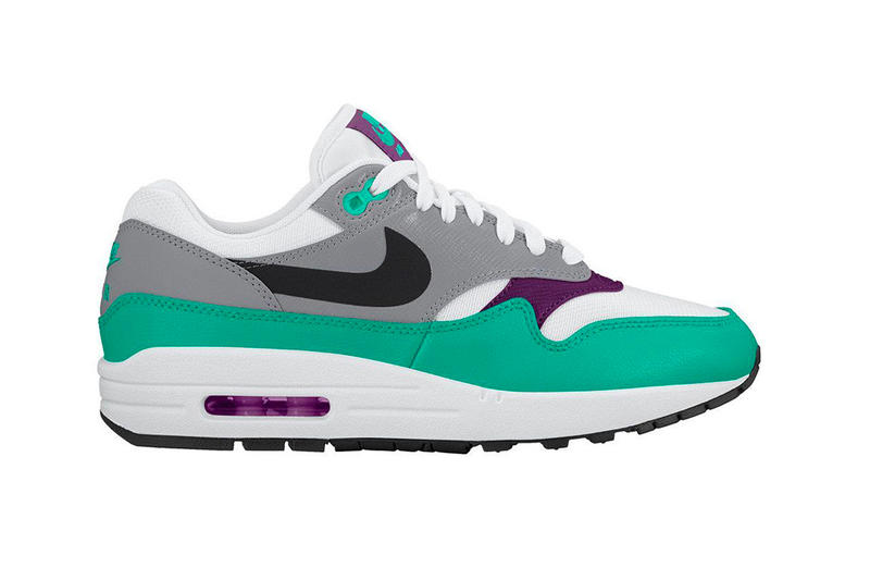 Nike Air Max 1 Pack Summer Release info drop july 2018 men womens White Court Purple Wolf Grey Pink Flash Black Clear Emerald Sail Amarillo Pure Platinum Signal Blue sneaker footwear