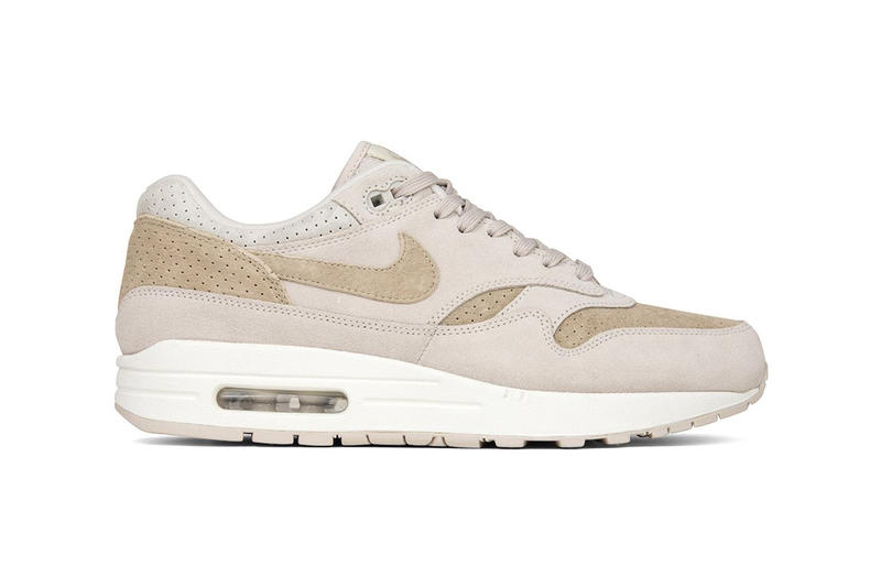 "Nike Air Max 1 Premium ""Desert Sand"" release info drop date price purchase suede summer season sneaker footwear"