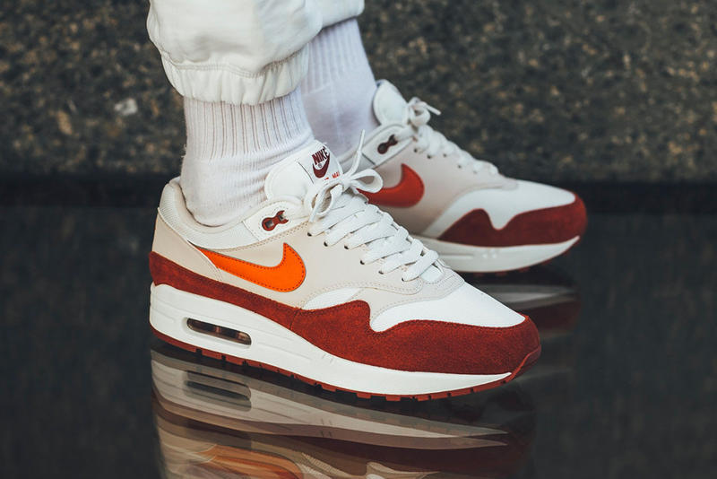 wholesale dealer 13373 6a65e An On-Feet Look at This Multi-Toned Nike Air Max 1