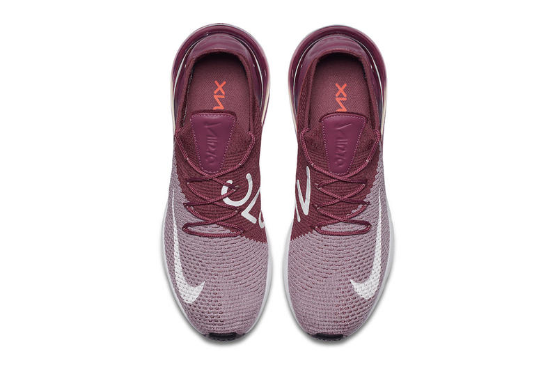 Nike Air Max 270 Flyknit Plum May 15 2018 release date info drop sneakers shoes footwear