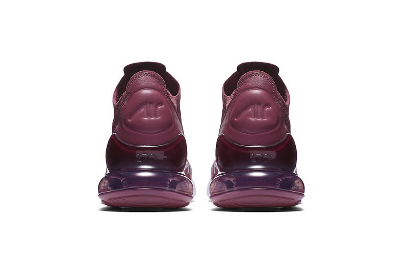 34f0cddf5515 Nike Air Max 270 Flyknit Plum May 15 2018 release date info drop sneakers  shoes footwear