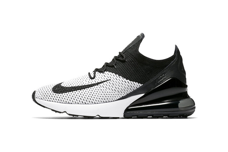 4f54113a6f Nike's Air Max 270 Flyknit Gets Its Cleanest Colorway Yet