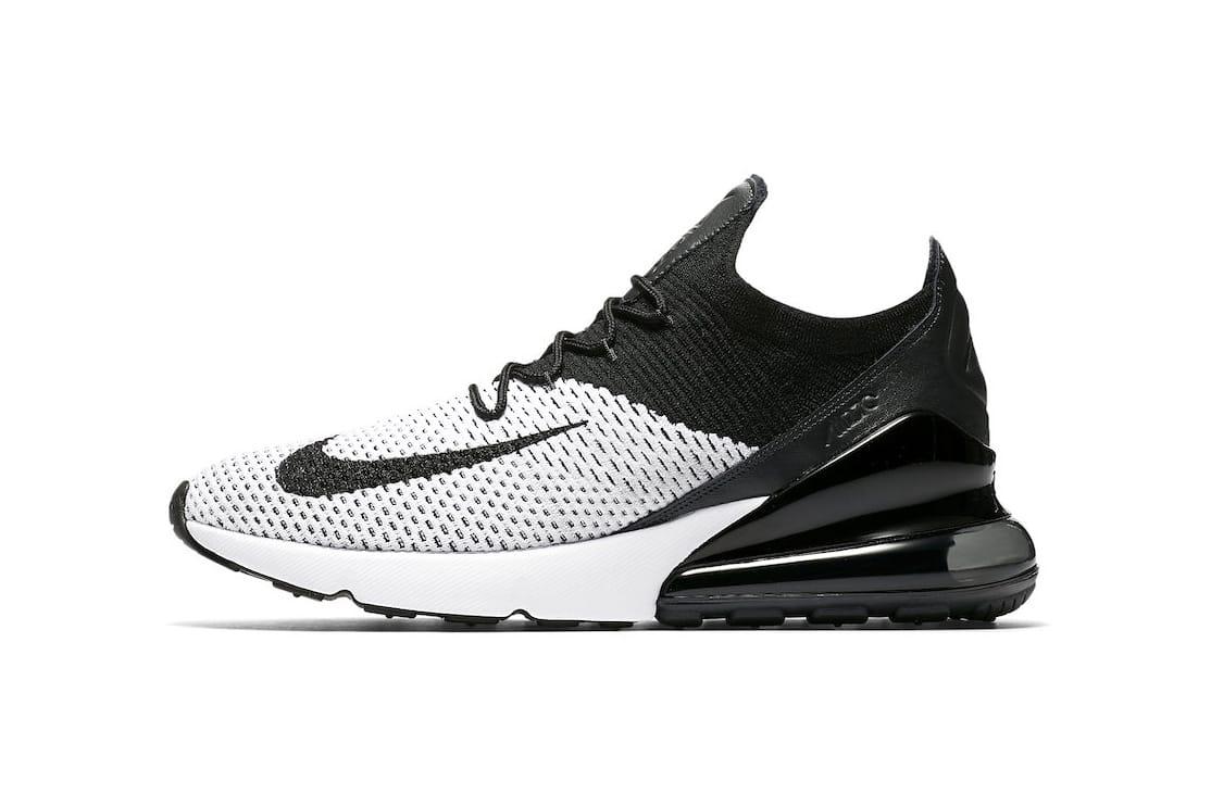 Nike Air Max 270 Flyknit in Black