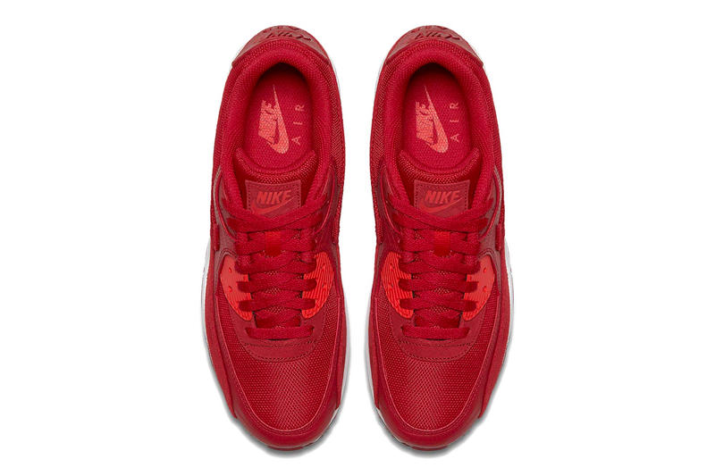 6d3e7386e0084 Nike Air Max 90 release info sail sepia stone habanero red gym red leather  suede nubuck