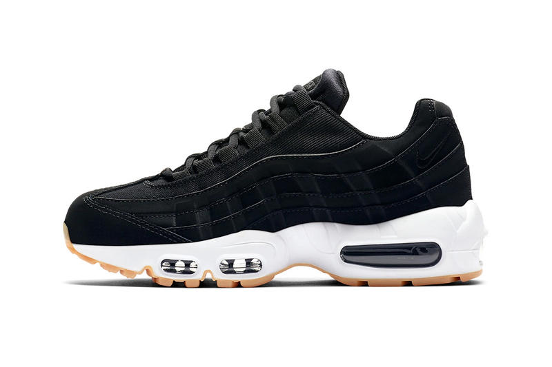 6090260926dc Nike Air Max 95 Classic Black Gum Sole Release