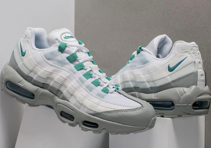 Nike Air Max 95 Clear Emerald Sneakers Streetwear